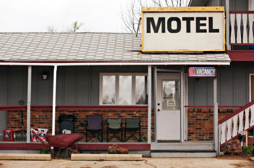 Motel in Ragged Butte