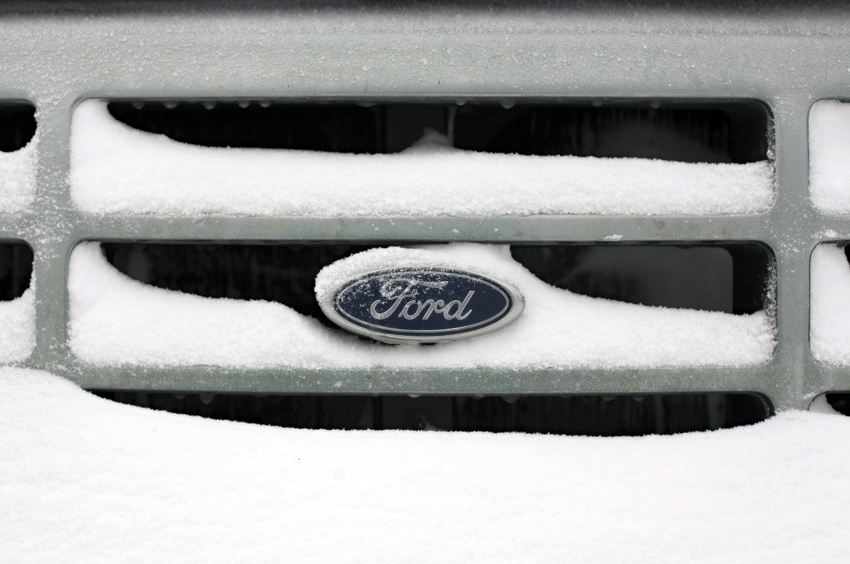 Photograph of New Year's Day Snow in Fargo