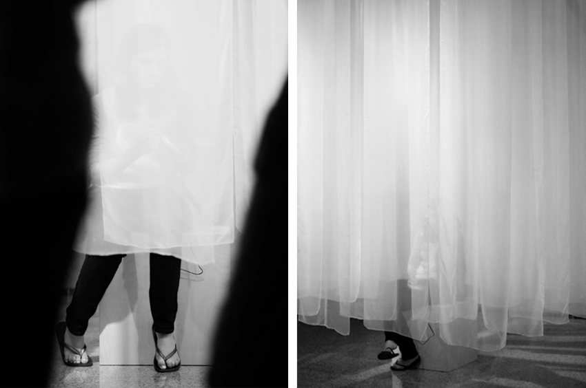 (Dis)covering the Veil: Visible and Invisible Spaces
