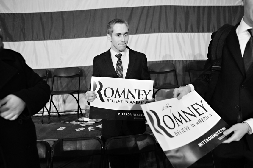 Mitt Romney's Fargo Stop In Photos