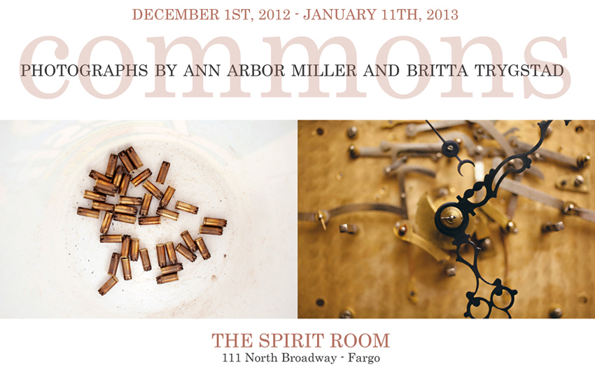 Commons: A Curious Pairing of Photographs by Ann Arbor Miller and Britta Trygstad